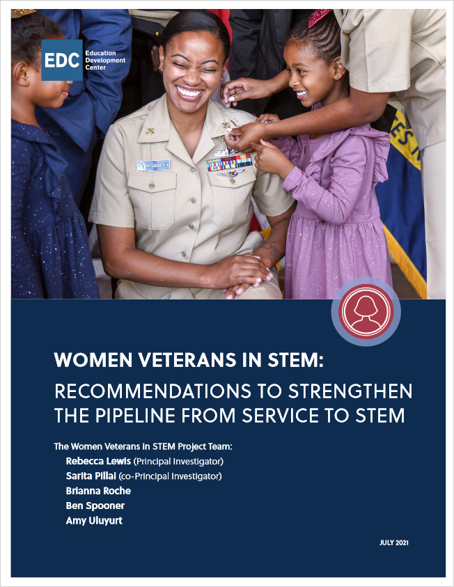 Recommendations to Strengthen the Pipeline from Service to STEM